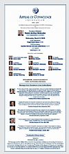 Appeal of Conscience Foundation 50th Anniversary Congressional Luncheon, 3/11/2015