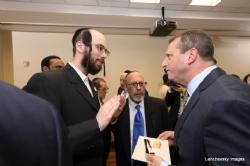 Eliazer Igel, Bruce Rudolph, NYC Councilmember Brad Lander, BradLander