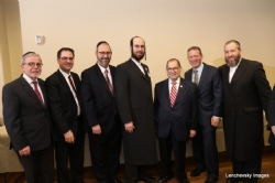 Pinny Hikind - Office of NYC Comptroller, NYC Councilmember Kalman Yeger, NYS Senator Simcha Felder, Eliazer Igel - CEO Ezra Medical Center, Representative Jerry Nadler, NYC Councilmember Brad Lander, Ezra Friedlander - CEO The Friedlander Group, JerryNadler