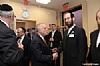 NYS Comptroller Tom DiNapoli congratulating Eliazer Igel