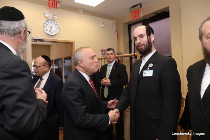 NYS Comptroller Tom DiNapoli congratulating Eliazer Igel, Tom DiNapoli, , ezra friedlander