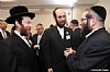 Rabbi Yecheskal Blau, Eliazer Igel, Pinny Ringel - Office of the Mayor