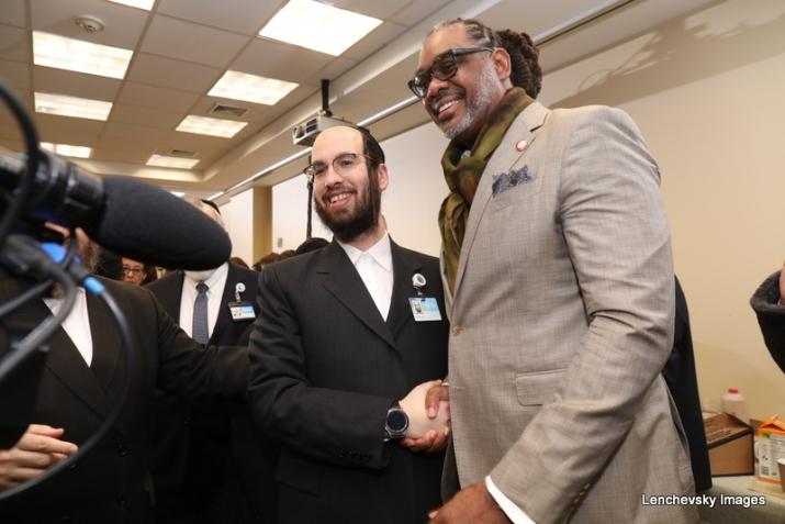 Eliazer Igel, NYC Councilmember Robert Cornegy Jr., Robert Cornegy Jr., , ezra friedlander