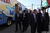 NYC Councilmember Brad Lander, Shlomo Igel, Pinny Hikind, Rabbi Berish Freilich