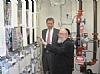 Bill de Blasio visits Xchange,