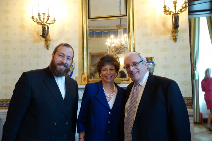 Ezra Friedlander CEO The Friedlander Group, Valerie Jarrett White House Senior Advisor, Joseph B. Stamm CEO Medreview, , , ezra friedlander