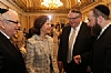 L-R: Joseph B. Stamm, H.M. Queen Silvia of Sweden, Peter Rebenwurzel - Chairman of the Wallenberg Commission, Ezra Friedlander - CEO, The Friedlander Group