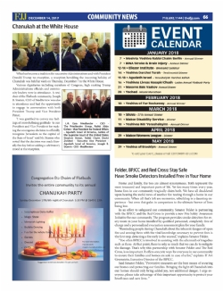 Flatbush Jewish Journal - December 14, 2017, EzraFriedlander