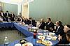 Delegation in discussion with U.S. Senator Ben Cardin and U.S. Senator Ted Cruz