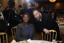 NYC Public Advocate Letitia James, Ezra Friedlander, Letitia James