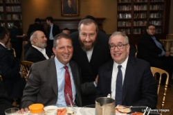NYC Councilmember Brad Lander, Ezra Friedlander, NYC Comptroller Scott M. Stringer, EzraFriedlander