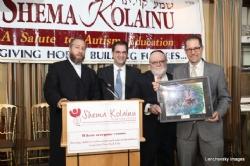 Ezra Friedlander, Kalman Yeger, Dr. Joshua Weinstein, NYC Councilmember Mark Levine, EzraFriedlander