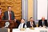 US Representative Trent Franks (speaking), Woli Stern, Dr. Eli Schussheim, Richard Hellman