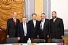 Michael Kierszenbaum, Woli Stern, US Senator Rand Paul, Dr. Eli Schussheim, Ezra Friedlander