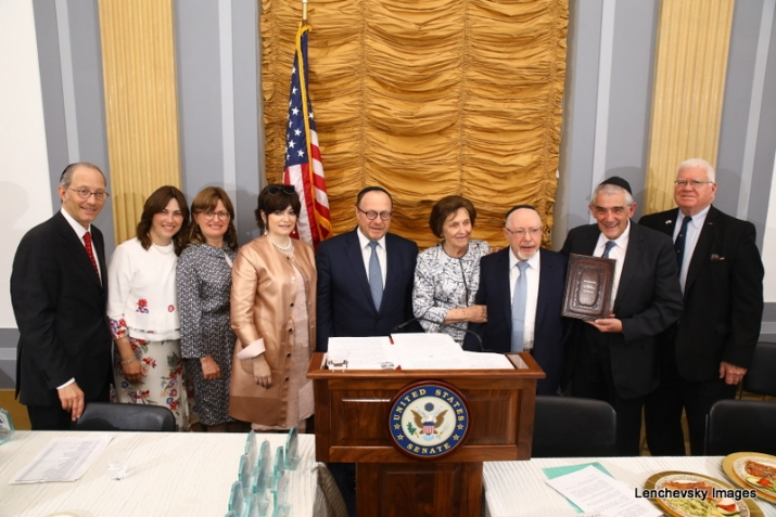 """Book of Life"" being presented by Woli Stern and his family, , RandPaul, ezra friedlander"