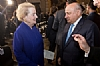 Hassan Ali Bin Ali with Madeleine Albright, Former United States Secretary of State