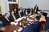 Mission participants in discussion with US Senator John Boozman