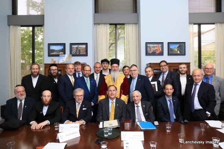 Mission participants with US Senator John Boozman, EzraFriedlander,JohnBoozman, , ezra friedlander