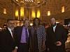 Rabbi Menachem Genack, Mark Meyer Appel, NYC Public Advocate Tish James, Ezra Friedlander
