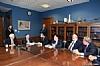 Mission participants in discussion with US Senator Thad Cochran