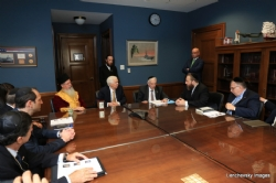 Mission participants in discussion with US Senator Thad Cochran, EzraFriedlander