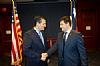 Jonathan Shabshaikhes with US Senator Ted Cruz