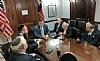 Rubin Margules, Ezra Friedlander, U.S. Senator Ted Cruz, Stanley Treitel, Joseph B. Stamm, Sol Goldner