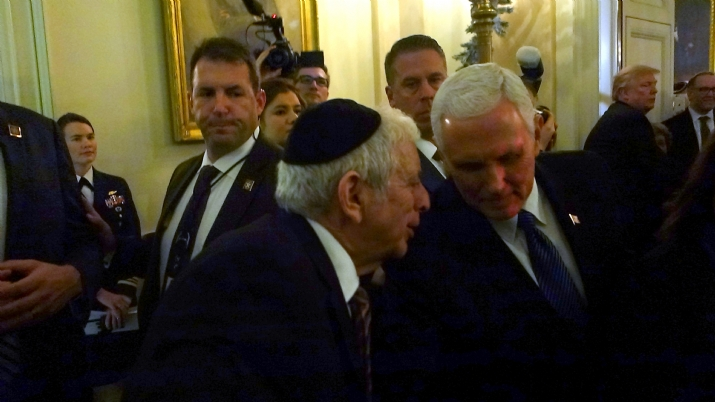 Joseph B. Stamm, Vice President Mike Pence, JosephB.Stamm,Mike Pence, Donald Trump, ezra friedlander