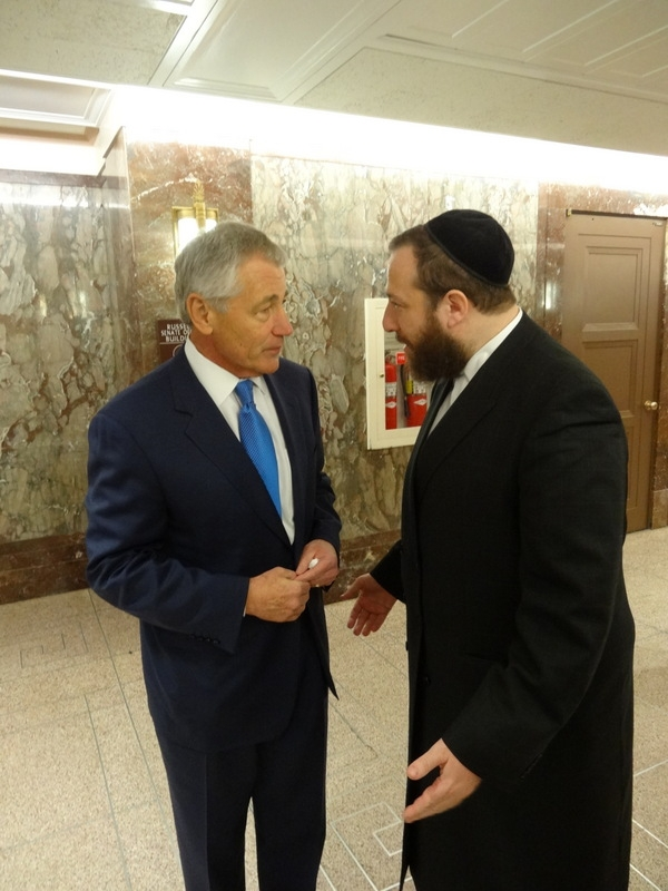 In discussion with Secretary of Defense Nominee Chuck Hagel, EzraFriedlander,Chuck Hagel, Chuck Hagel, ezra friedlander
