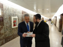 In discussion with Secretary of Defense Nominee Chuck Hagel, EzraFriedlander