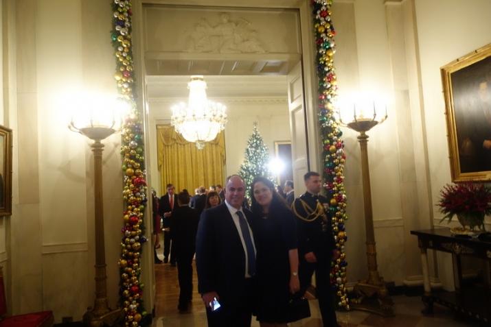 Gil & Sari Cygler, , White House, ezra friedlander