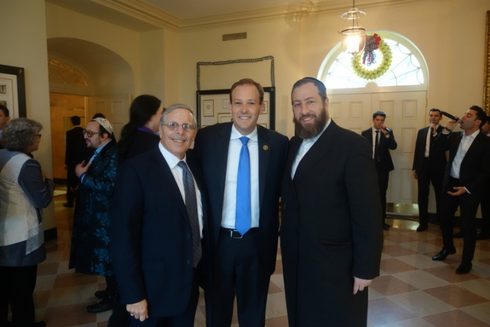 Rep. Lee Zeldin, Ezra Friedlander, , White House, ezra friedlander