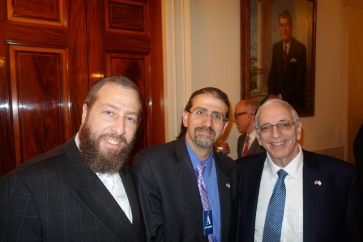 Ezra Friedlander, Ambassador Dan Shapiro, Joseph B. Stamm, , White House, ezra friedlander