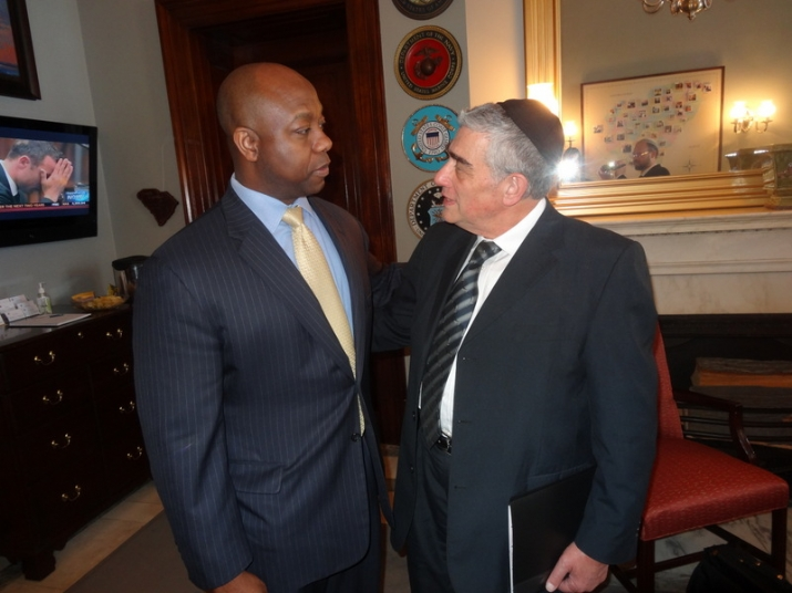 US Senator Tim Scott, , , ezra friedlander