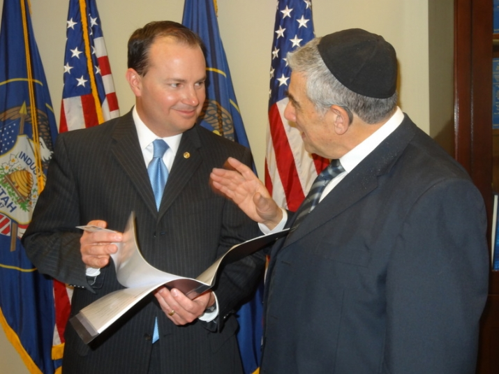 US Senator Mike Lee, , , ezra friedlander
