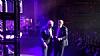 U.S. Senator Chuck Schumer, Abe Eisner on stage