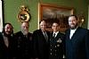 Moshe Visel; Chaplain Jacob Goldstein, Joseph B. Stamm, Rear Admiral Herman Shelanski, Ezra Friedlander