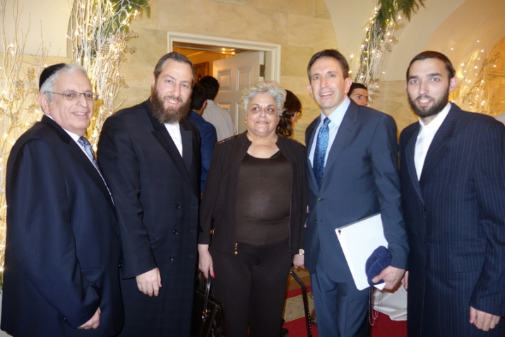 Joseph B. Stamm, Ezra Friedlander, Bonnie Rubinstein ( sister of Alan Gross), Matt Nosanchuk - White House Jewish Liaison,  Simcha Eichenstein, , , ezra friedlander