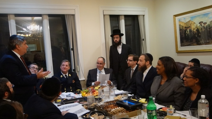 L-R Around the table 