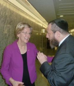U.S. Senator Elizabeth Warren, Ezra Friedlander, EzraFriedlander