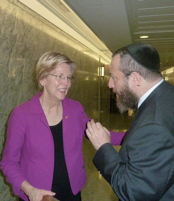U.S. Senator Elizabeth Warren, Ezra Friedlander, EzraFriedlander,ElizabethWarren, , ezra friedlander