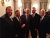Ezra Friedlander - CEO - The Friedlander Group, Rabbi Abba Cohen - Vice President of Federal Affairs - Agudath Israel of America, Justice of the Supreme Court of the United States Stephen Breyer, Rabbi Chaim Dovid Zwiebel - Executive Vice President - Agudath Israel of America, Joseph B. Stamm - CEO - MedReview