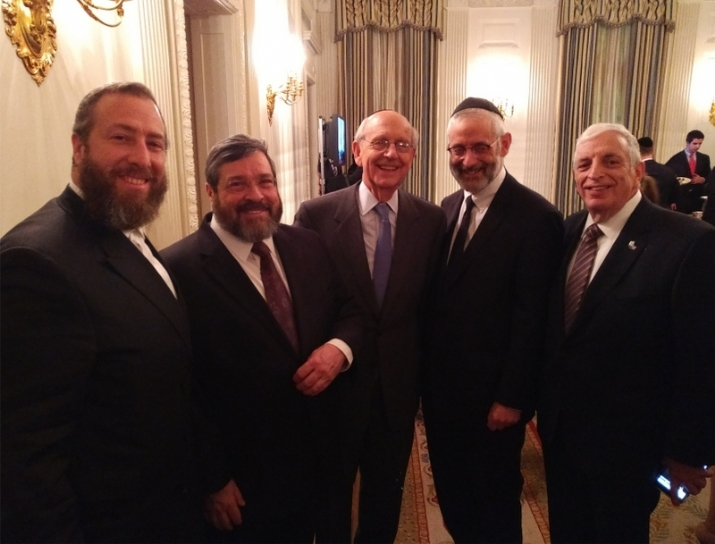 Ezra Friedlander - CEO - The Friedlander Group, Rabbi Abba Cohen - Vice President of Federal Affairs - Agudath Israel of America, Justice of the Supreme Court of the United States Stephen Breyer, Rabbi Chaim Dovid Zwiebel - Executive Vice President - Agudath Israel of America, Joseph B. Stamm - CEO - MedReview, Donald Trump,EzraFriedlander,JosephB.Stamm,DonaldJ.Trump,StephenBreyer,AbbaCohen,DavidZwiebel, Donald Trump, ezra friedlander