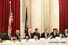 L-R: H.E. Yasser Reda - Ambassador of Egypt, Isaac Dabah, U.S. Senator Ben Cardin, Ezra Friedlander, Sol Goldner, Jack Avital, Leon Goldenberg, Stanley Treitel