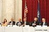 Ivette Dabah, H.E. Yasser Reda - Ambassador of Egypt, Isaac Dabah, U.S. Representative Chris Stewart, Ezra Friedlander, Sol Goldner