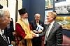 Bukharian Chief Rabbi Itzhak Yehoshua thanking US. Senator James Lankford for his support