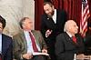 U.S. Senator Tim Kaine, Ezra Friedlander, J. Morton Davis