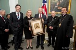 Matt Nosanchuk - White House, U.S. Senator Kirsten Gillibrand with Rabbi Arthur Schneier, KirstenGillibrand