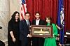 Esther Kenigsberg, US Senator Brian Schatz (D-HI), Mendy Kiwak, Breinde Kiwak