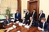 Bukharian Chief Rabbi Itzhak Yehoshua, U.S. Lindsey Graham, Joseph B. Stamm, Sol Goldner, Leon Goldenberg, Ezra Friedlander